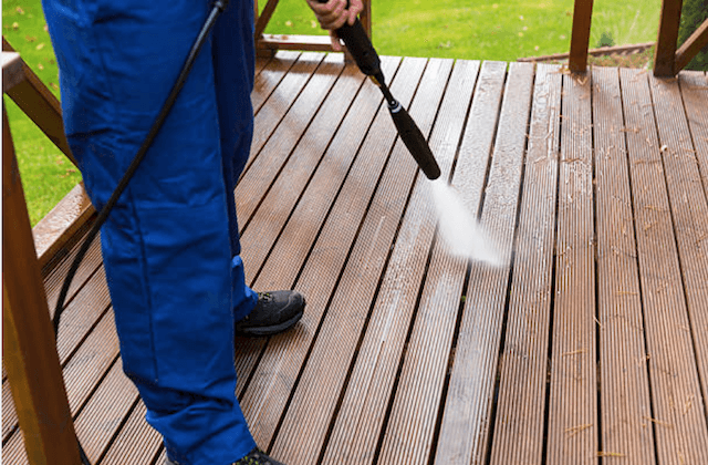 deck cleaning silver spring