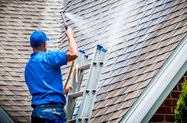 silver spring roof cleaning